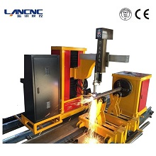 intersecting line 3 axis pipe cutting machine